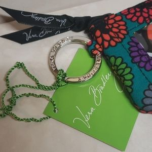 Vera Bradley Accessories - Vera Bradley Disney Mickey  Magical Blooms Zip ID